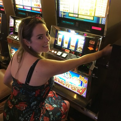 Playing the Las Vegas slots